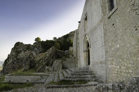 caltabellotta: San Salvatore church in Caltabellotta  Sicily, Italy   Stock Photo