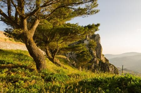 caltabellotta: Landscape of Caltabellotta, Sicily, Italy