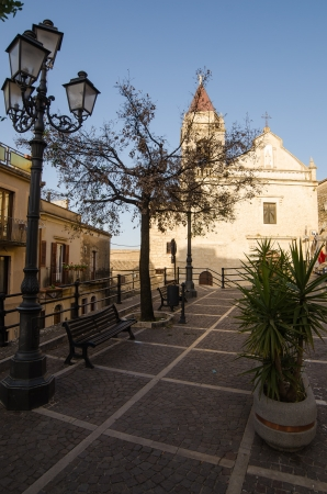 caltabellotta: Church in Cattabellotta, Sicily, Italy