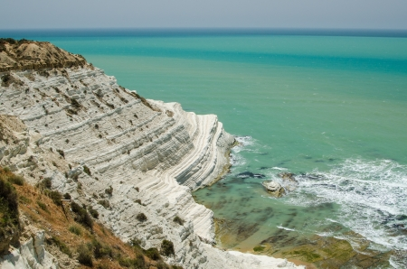 Turkish rocks near Agrigento  Sicily, Italy