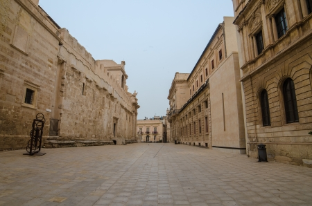 The old town of Syracuse, Sicily, Italy