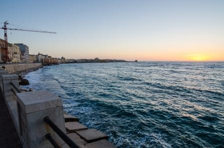 trapani: Mediterranean sea in the Trapani, Sicily, Italy