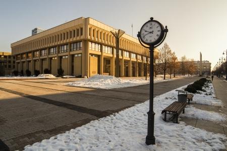 Lithuanian Parliament building in Vilnius