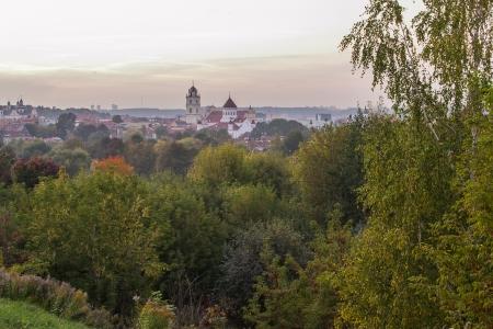 vilnius: Lithuania  Vilnius in autumn