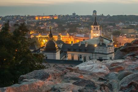Lithuania  Vilnius in autumn