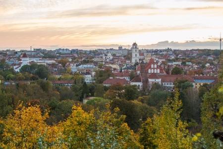 vilnius: Litnuania  Vilnius in autumn