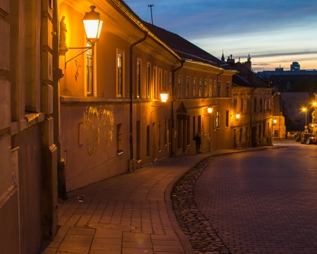 Uzupis in Vilnius, Lithuania