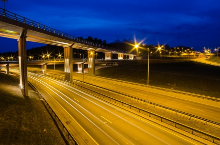 New Viaduct in Vilnius, Lazdynai  Lithuania