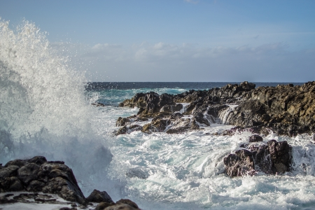 Waves of the ocean photo