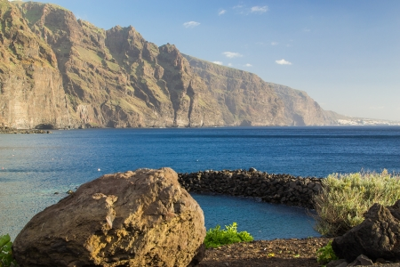 Sea in Tenerife, Canary Island, Spain Stock Photo
