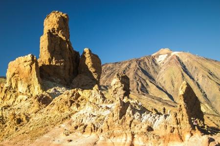eruptive: Teide volcano, in Tenerife, the Canary Islands, Spain