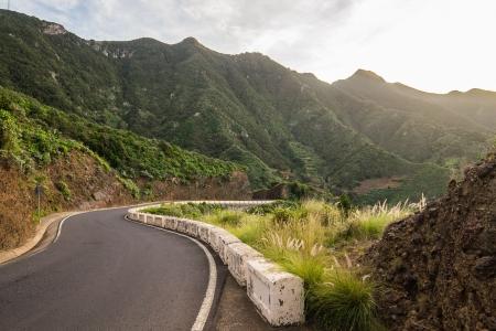 eruptive: Landscape of Tenerife Island, Spain