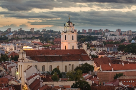 Sts  Johns  Church in Vilnius, Lithuania photo