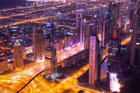 Downtown of Dubai  United Arab Emirates  Stock Photo