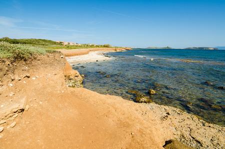 The coast of Funtana Meiga in Sardinia Island, Italy photo