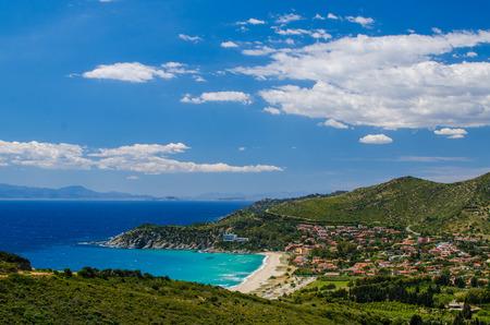 South coast of Sardinia Island, Italy photo