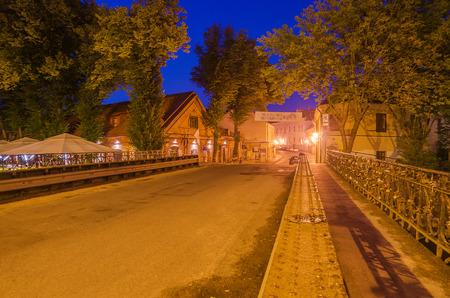Uzupis  in Vilnius, capital city of Lithuania