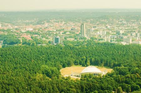 Vingio park in Vilnius, Lithuania Stok Fotoğraf