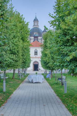 kaunas: Pazaislis monastery and church in Kaunas, Lithuania