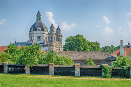 kaunas: Pazaislis monastery and church in Kaunas, Lithuania