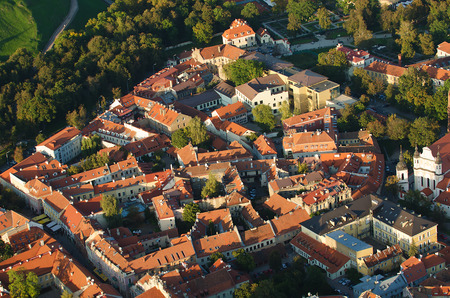Old Town of Vilnius, Lithuania.