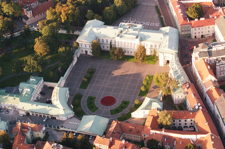 The Presidential Palace in Vilnius, Lithuania