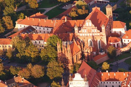vilnius: Old Town of Vilnius, Lithuania.