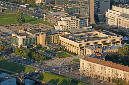 The Lithuanian Parliament Building in Vilnius Editorial