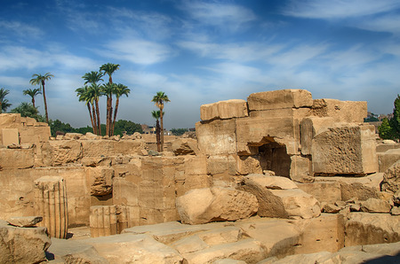 thebes: Karnak Temple Complex in Luxor Thebes, Egypt