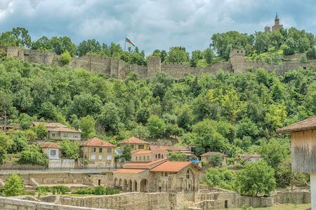veliko tarnovo: Veliko Tarnovo, the historical capital of Bulgaria Editorial