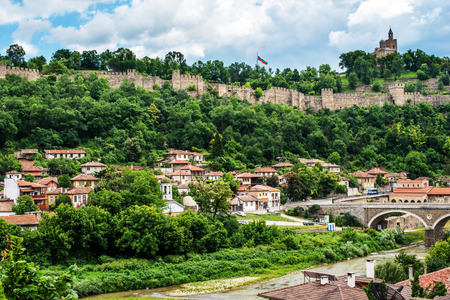 Veliko Tarnovo, the historical capital of Bulgaria Editorial