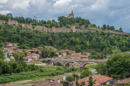 tarnovo: Veliko Tarnovo, the historical capital of Bulgaria Stock Photo