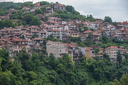 veliko tarnovo: Veliko Tarnovo, the historical capital of Bulgaria Stock Photo