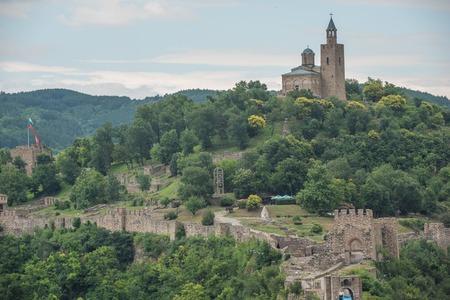 veliko: Veliko Tarnovo, the historical capital of Bulgaria Stock Photo