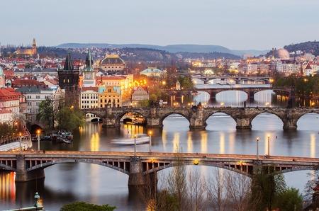 Bridges Of Prague Czech Republic A Symbol Of Love And Connection