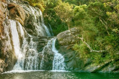 Sri Lanka: Bakers Falls in Horton Plains National Park