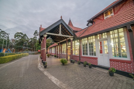 Sri Lanka, Nuwara Eliya: colonial British post office Stock Photo