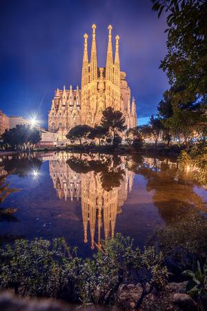 Barcelona, Catalonia, Spain: Basicila and Expiatory Church of the Holy Family, known as Sagrada Familia