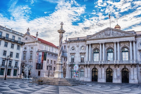 Lisbon, Portugal: the Town Hall, Pacos do Concelho de Liaboa