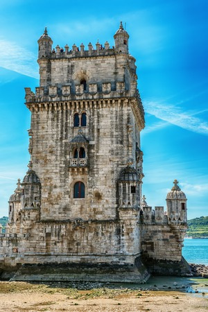 Lisbon, Portugal: the Belem tower, Torre de Belem