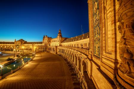 Seville, Spain: The Plaza de Espana, Spain Square