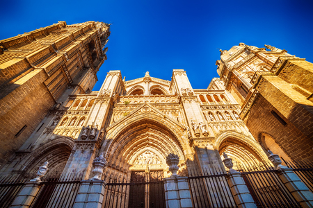 Toledo, Spain: the Cathedral Stock Photo