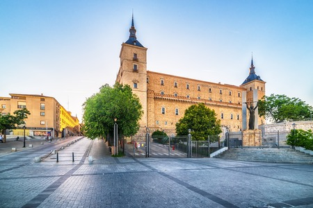 Toledo, Spain: the Alcasar