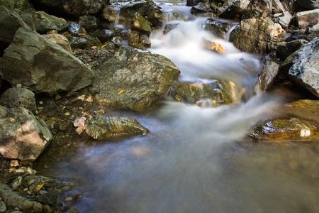 Rocky Stream Running Water Stock Photo - 10423914