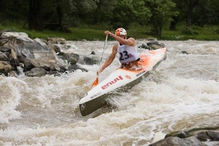 persevere: Kraljevo City, Serbia - July 25, 2010 - 8th European Junior Championships in kayak on wild water