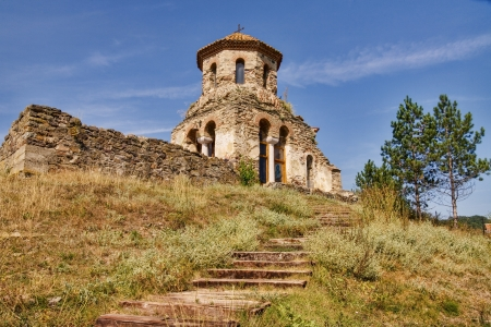 serbian: Serbian monastery  Stock Photo