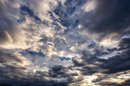 Dramatic sky before the storm Stock Photo - 16380614