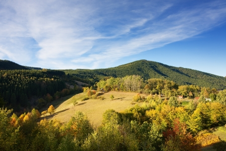 Mountain autumn Stock Photo - 16380651