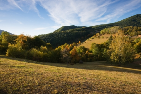 Landskcape mountain in october Stock Photo - 16380642
