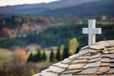 Cross on Ortodox curch